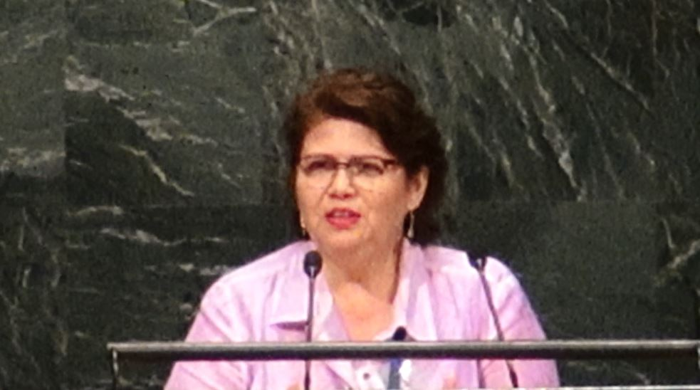 2015 NGO Conference Rosa Lizarde Speech (Board Member,Global Call to Action Against Poverty)